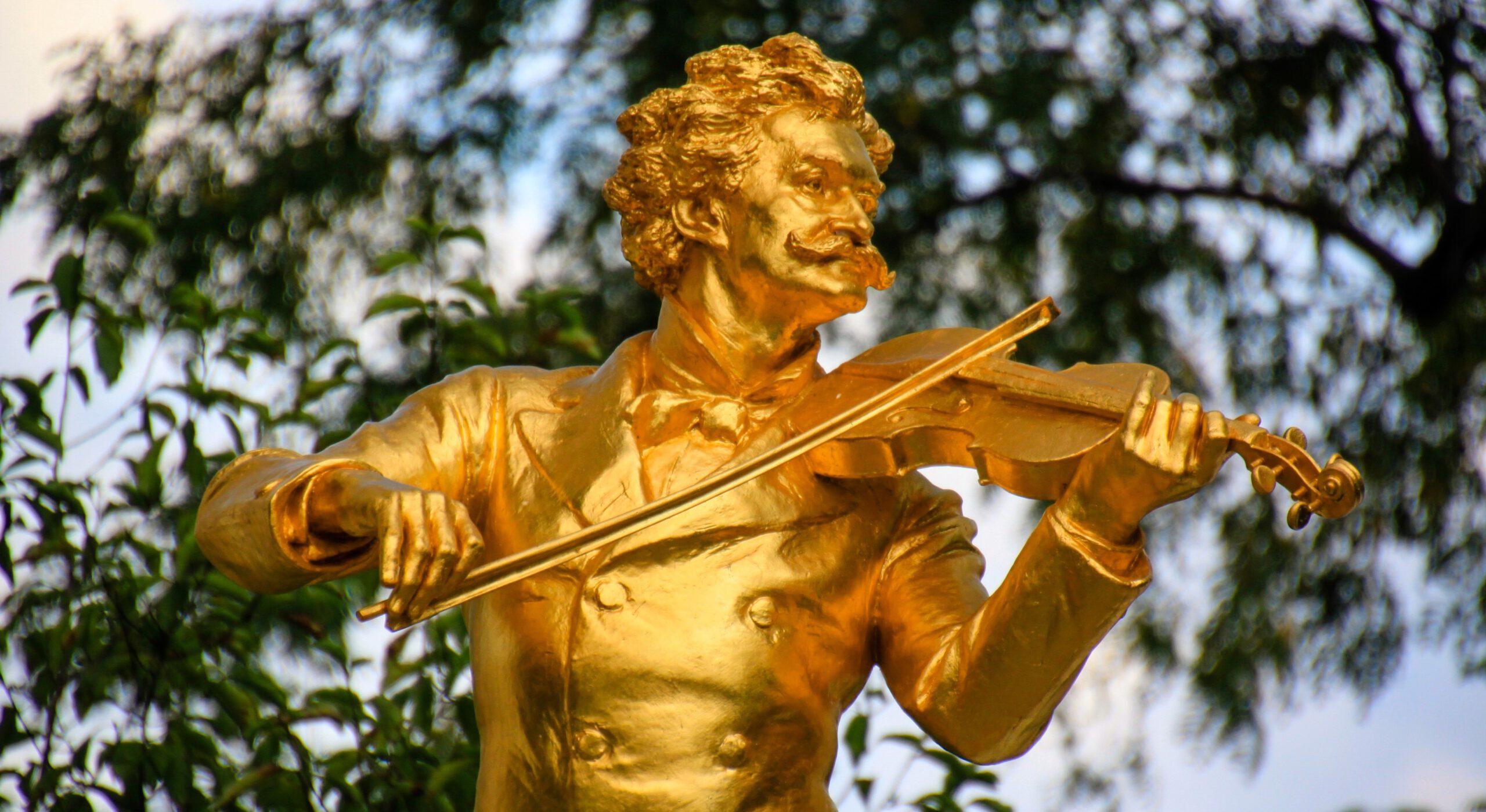 Johann Strauss, Stadtpark Wien